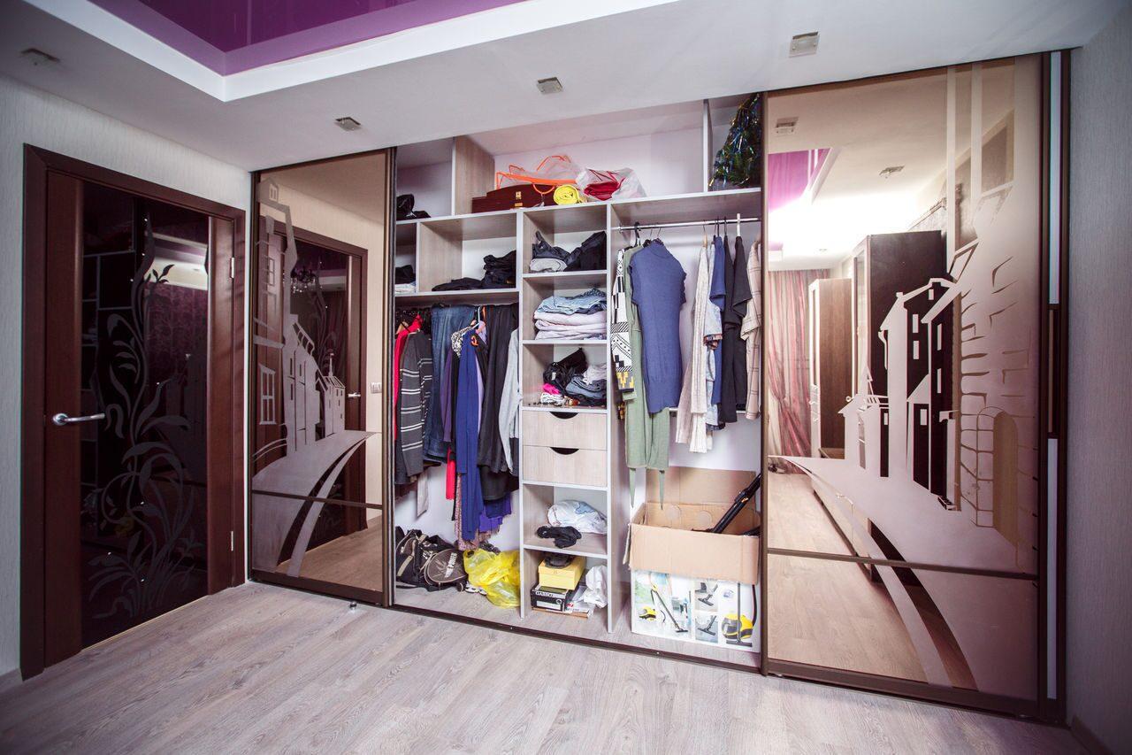 Дизайн шкаф купе гардеробная